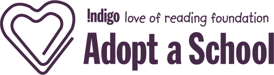 Indigo Adopt a School Logo